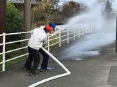 消火栓放水 防火訓練