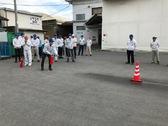 消火器体験 防火訓練